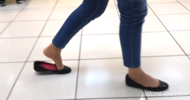 People stole Lisa's ballet flats and left her shoeless in public!!! - Part 1